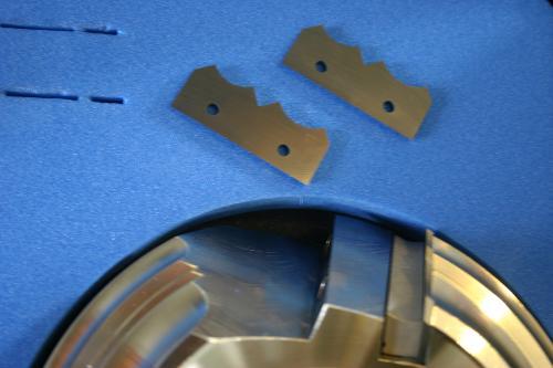 porte outils de toupie pour quart de rond bois